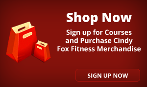 Purchase Cindy Fox Fitness Merchandise